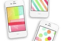wallpaper / Dress your tech with pretty wallpaper! / by Carley Knobloch