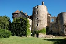 Ingrandes Ball / Planning a ball at my Aunt & Uncle's beautiful B&B Chateau, ruins of a medieval castle erected between the XIth and the XVth century, located on the banks of a river, in Indre -Centre 36300 France