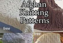 Afghan Knitting Patterns / Knitting patterns for afghans, blankets, throws. Many free patterns. See more free knitting patterns for blankets at http://intheloopknitting.com
