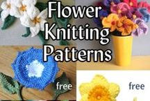 Flower Knitting Patterns / Knitting patterns for flowers and plants