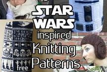 Fantasy and SciFi Knitting Patterns / Knitting patterns inspired by fantasy and science fiction movies, books, characters and themes, including Harry Potter, Doctor Who, Star Wars, Star Trek, and more
