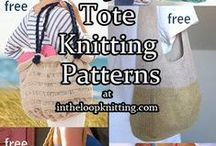 Purse Knitting Patterns / Knitting Patterns for bags, totes, purses, carryalls, reticules. Many patterns are free.