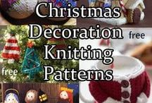 Holiday Knitting Patterns / Knitting patterns for various holidays including Christmas,Valentine's Day, St. Patrick's Day, Easter, Fourth of July, Halloween