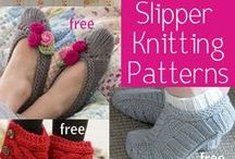 Footwear Knitting Patterns / Knitting patterns for slippers, socks, booties, moccasins, shoes