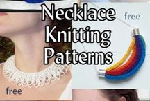 Jewelry Knitting Patterns / Knitting patterns for necklaces, bracelets, and other jewelry. Many patterns are free.