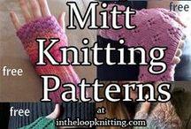 Handwear Knitting Patterns Gloves and Mittens / Knitting Patterns for fingerless mitts, mittens, gloves, handwarmers, wristwarmers