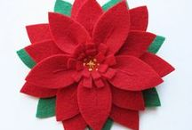 Pointsettia DIY / by Lori Allred {allreddesign.net}