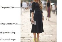 Fashion rules / Few fashion tips to improve your style