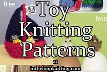 Toy Knitting Patterns / Knitting patterns for toys and games for kids of all ages