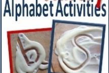 Alphabet Fun / Crafts, Activities & more for the Alphabet. Sharing ideas that will encourage letter recognition, phonetic sounds & letter formation in a fun, hands-on way!