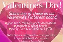 VALENTINE'S DAY PARTY THEME IDEAS / Celebrate Valentine's day with creative party decorations, favors, drinks, and desserts! We're featuring pins, so don't be shy! If you'd like to join, leave a comment at: http://www.bellenza.com/party-ideas/party-crafts/announcement-featured-bellenzas-valentines-party-decor-treats-fest