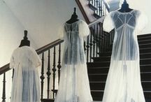 Regency Dresses and Gowns / This board focuses on extant examples of (mostly) western women's dresses and gowns of (roughly) the extended Regency/federal/empire eras. (Disclaimer: I'm NOT a historian - this is a collection of resources available online that appeal to me and is not original research.) Enjoy! :-) / by Heather Hufton