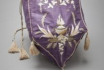 Regency Purses & Bags / This board focuses on extant examples of (mostly) western women's purses, reticules, and bags of (roughly) the extended regency/federal/empire eras. (Disclaimer: I'm NOT a historian - this is a collection of resources available online that appeal to me and is not original research.) Enjoy! :-) / by Heather Hufton