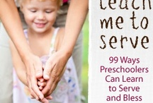 learning to serve / by Beth Pickett