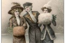 Antique postcards, calling cards,and Letters / by Valerie Gerke
