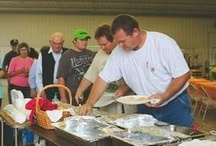 """Meals In The Field 2012 / Farm Credit celebrates National Farm Safety & Health Week by daily delivering meals to winning farm families as they harvest. This is to encourage them to take and break and re-fuel/replinish and """"be safe"""" during long hours of work."""