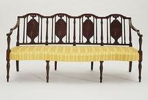 Regency / Federalist / Empire era furnishings / by Heather Hufton