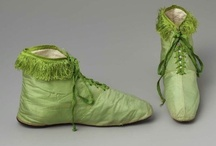 Regency Greens / Examples of green fabrics and garments in ladies fashions from the (roughly) extended regency/federal/empire eras. / by Heather Hufton