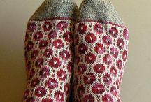 Knitted Socks & Slippers / by Meg Marcella