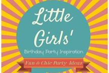 LITTLE GIRLS' BIRTHDAY PARTY INSPIRATION / Sugar and spice and all things nice! Plus a lot more inspiration for little girls' birthday parties -- from themes to decorations to games/activities to food & drinks to favors!  / by Bellenza