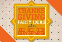 "THANKSGIVING FUN FOR EVERYONE! / Get both kids and grownups in on the Thanksgiving spirit with fun, creative activities, games, crafts, plus food and drinks! Please join us by writing to our editor at bellenzabistro AT gmail DOT COM with the title of ""Joining Thanksgiving Fun on Pinterest."""