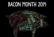 #PutSomePigInIt Bacon Recipes / Recipes packed full of Bacon! / by Jaime @ Mom's Test Kitchen