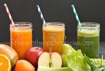 Smoothies, Juices, Infused Water