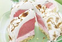 Recipes - cakes and desserts