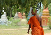 Monks in Cambodia / Impressions about Monks in Cambodia
