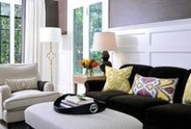 modern + traditional / Modern furniture + traditional architecture or traditional furniture + modern architecture