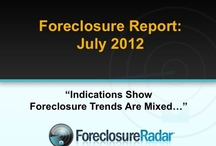 The Foreclosure Report - July 2012 / Foreclosure Trends Are Mixed / by ForeclosureRadar
