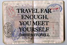 Fernweh / Caught the travel bug, adventure awaits...let's explore!