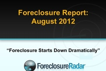 The Foreclosure Report | August 2012 / by ForeclosureRadar