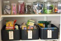 Organize Your Home / Organization tips and tricks to keep your home clutter free.