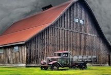 Barns / I have a passion for barns... / by Angela Wonnacott