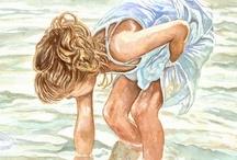 Love of sand and surf ♡♡♡ / by Angela Wonnacott