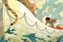 illustrations / by Hazel Bond