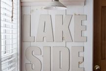 Lake House Inspiration/ Remodel / by Emily Wilbanks