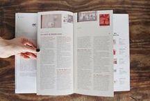 Publication et Editorials / Publication, editorial & print design.