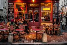 Café Culture / Cafes-bistro-coffeeshop-hopping round the world.