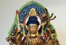 Boeddha beelden / Boeddha beelden van Boeddha Centre Amsterdam. Website www.boeddhacentre.nl.