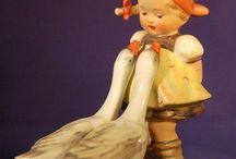 hummel vintage figurines / The sweet. sweet world of Hummels