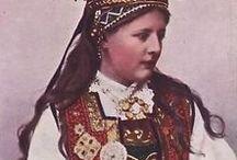 norwegian folklore traditional costumes