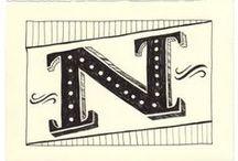 Design | Letters / Beautiful script letter designs / by Jill Nystul  |  One Good Thing by Jillee