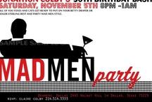 Party Theme: Mad Men