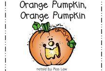 ✏️ Preschool~Pumpkins