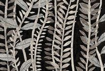 pattern: leaves