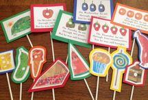 ✏️ Preschool~Book-based Activities