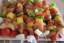 Recipes for the Grill / Easy and delicious summer recipes for the grill