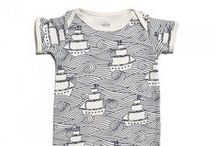 Winter Water Factory / Organic and made in America, these graphic kids' clothes look great and priced right.